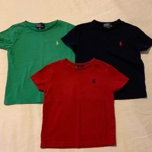 Polo by Ralph Lauren toddler tees 18m